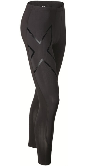 2XU M's Elite MCS Compression Tights Black/Black logo